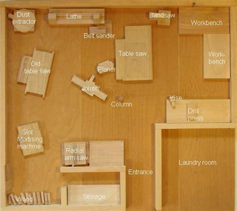 woodwork woodshop layout  plans