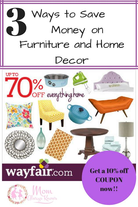 home decor promo code save money on furniture and home decor with wayfair plus