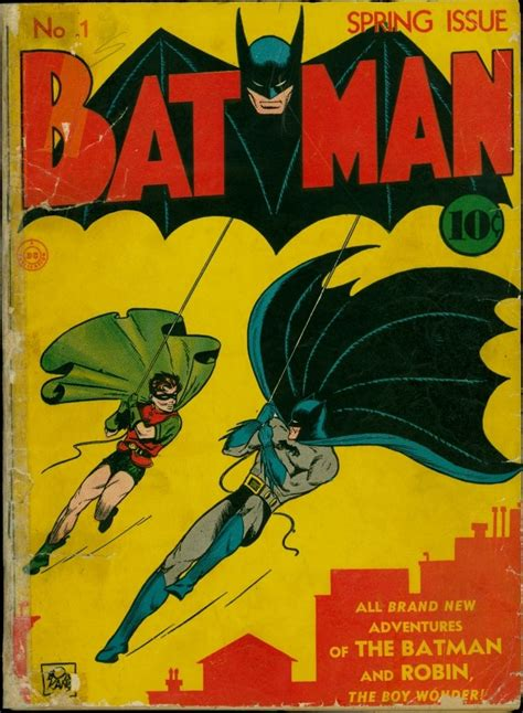 Batman Comic Book Values Prices Issues 1 10 Comics