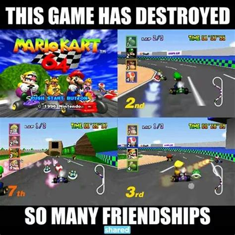 Mario Kart Memes - the best mario kart memes of all time