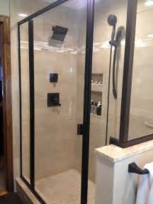 bathroom glass marble shower contemporary bathroom