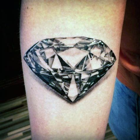 diamond tattoo jewellery 70 diamond tattoo designs for men precious stone ink