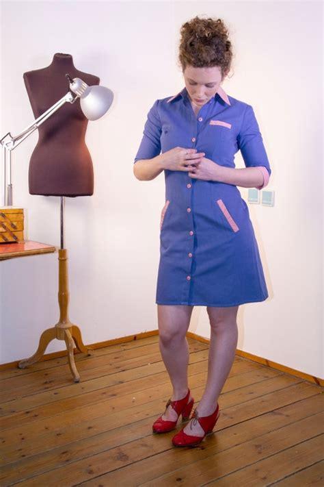 blue waitress diner dress retro dress blue dress waitress uniform by