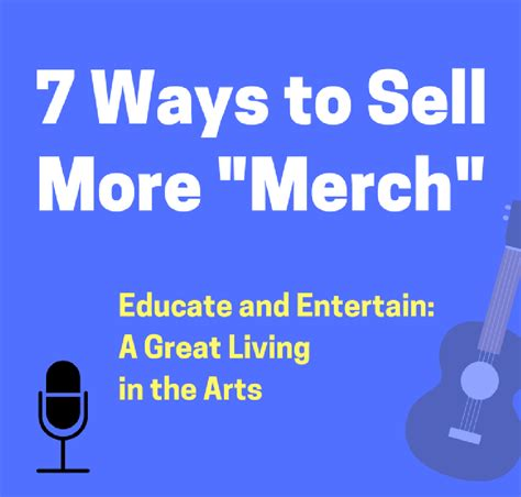 7 Ways To Sell Yourself During An by 7 Ways To Sell More Quot Merch Quot At Your Gigs Dave Ruch