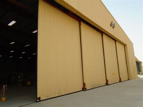hangar door hardware p c henderson s sterling 8000 door hardware installed at