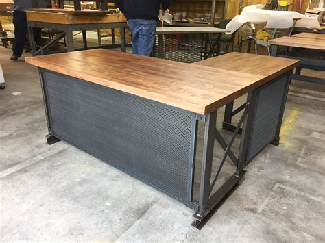 custom made office desk buy a custom the carruca desk made to order from iron age