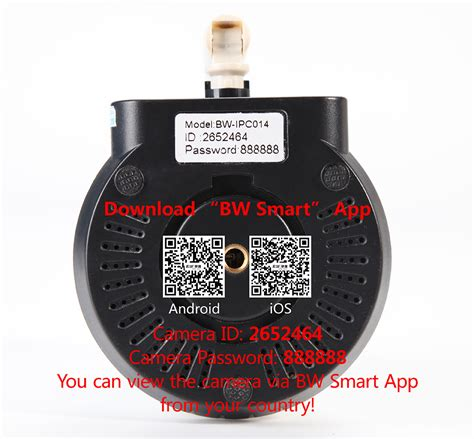 Wifi Ip Hd 720p Security Smart Phone Infrared Ir P2p bw hd 720p ip smart p2p motion sensor smoke gas