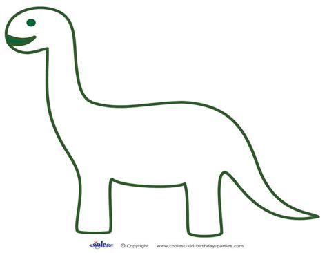 Dinosaur Template Printable