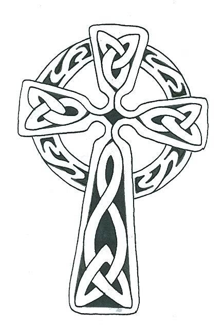 simple celtic cross tattoo simple celtic cross free best simple celtic