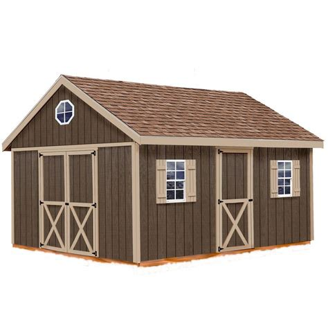 Wood Storage Shed Kits by Best Barns Easton 12 Ft X 16 Ft Wood Storage Shed Kit