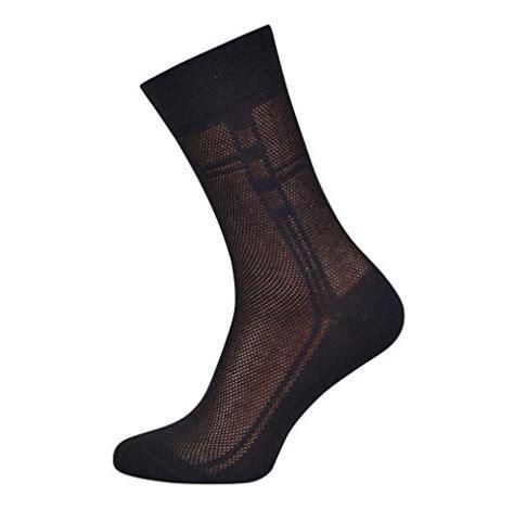Breathable Cotton Dress Socks - 5 pack s ultra thin breathable cotton dress socks 5