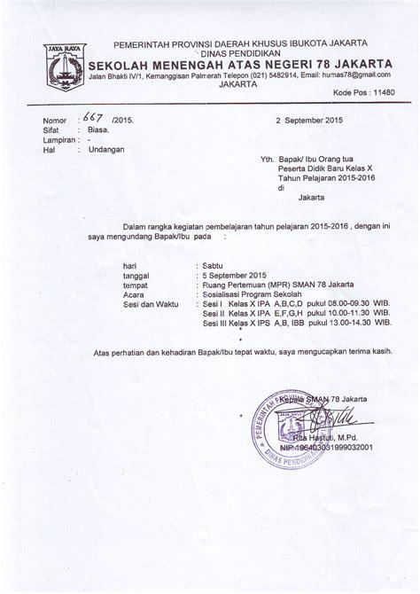 Laporan Notulen by Contoh Invitation Rapat Osis Toast Nuances