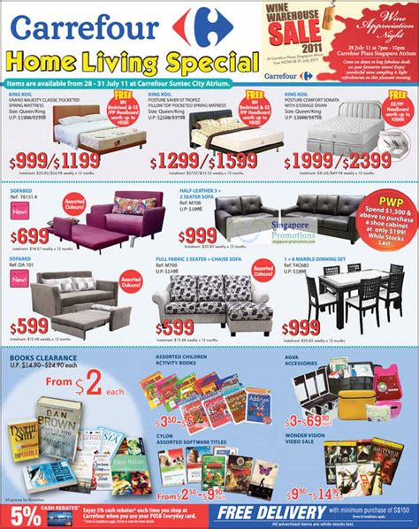 Sofa Bed Carrefour sofa bed carrefour dec 2017 singpromos