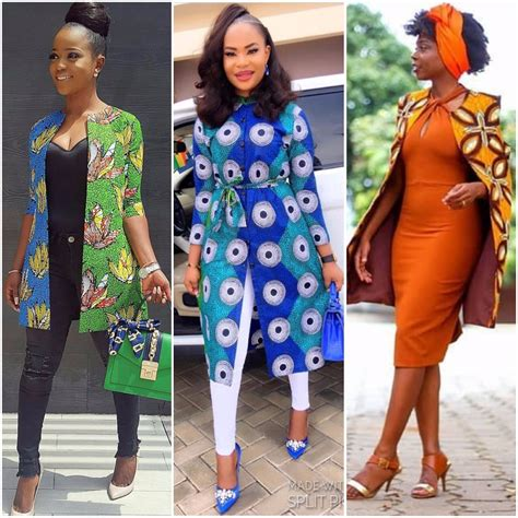 ankara blazer and jacket styles latest ankara kimono jackets for every woman fabwoman