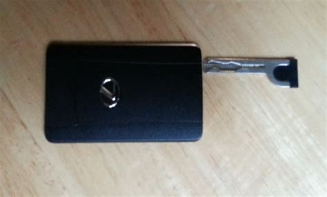 lexus smart card key credit card key clublexus lexus