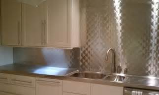 Kitchens With Stainless Steel Backsplash with stainless steel backsplash classic kitchen with stainless steel