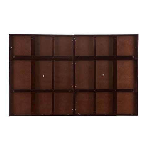 Wall Mounted Headboard Southern Enterprises Cairo Wall Mount Headboard Espresso