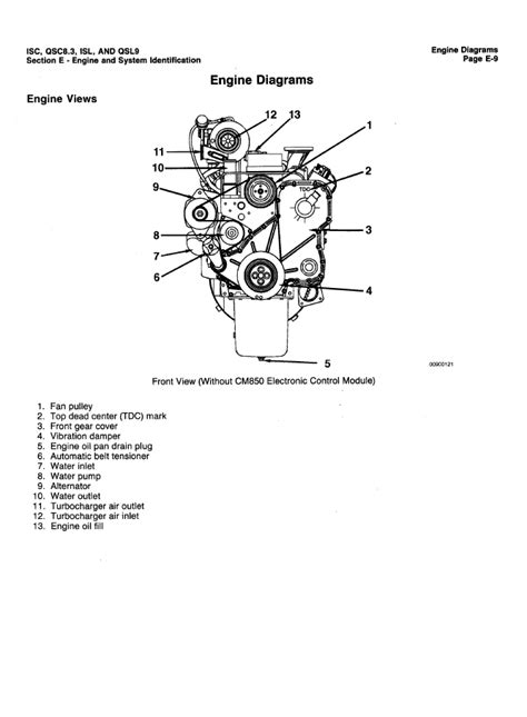 Cummins Engines ISC, ISCe, QCS8.3, ISL, QSL9 PDF