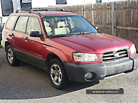 subaru 2004 wagon 2004 subaru forester x wagon 4 door 2 5l