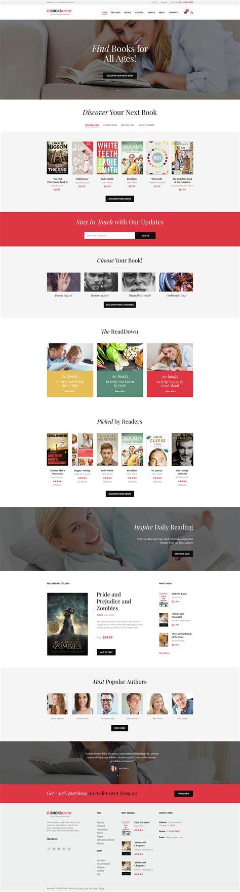 Wordpress Themes Publishing House | booklovers publishing house book store wordpress theme