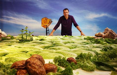 Landscape With Food Foodscapes Stunning Landscapes Made Of Food By Carl