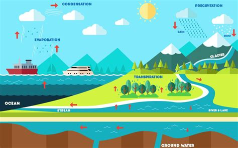 water cycle images water cycle diagram