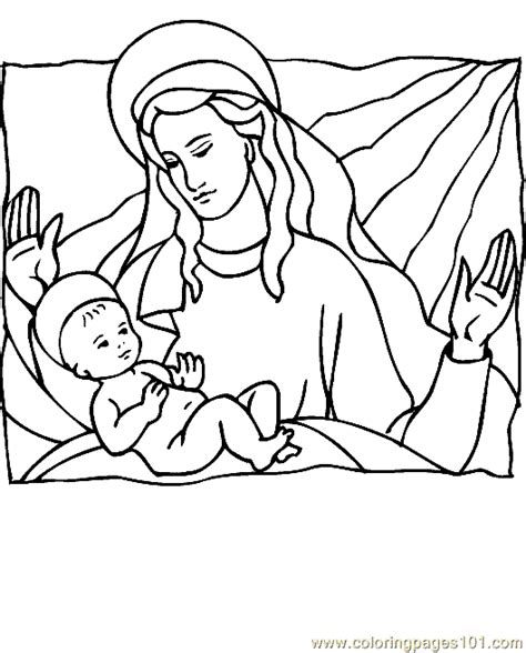 Coloring Page 15 by Religious Coloring Page 15 Coloring Page Free