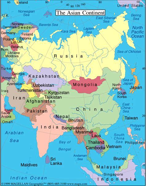 global map asia global studies winter 2005