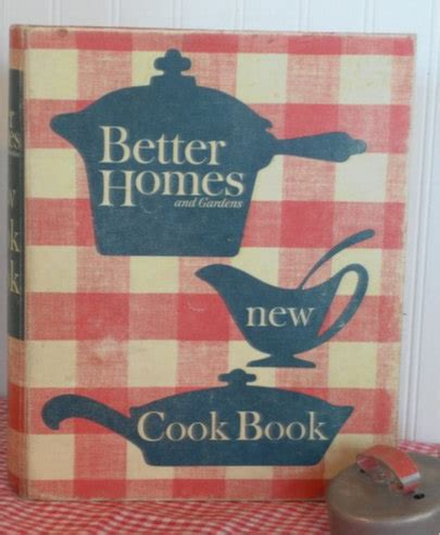 vintage better homes and garden new cook book 1960 s
