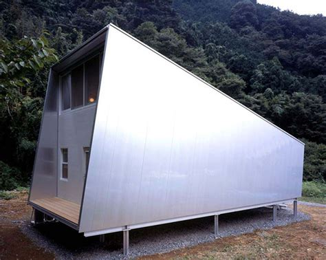 Small Japanese Home Design Small Home Design Ideas Metal Clad House With Wood Interior
