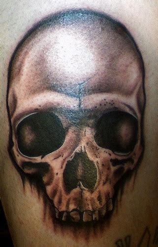 tattoo black and grey skull black and grey skull tattoo flickr photo sharing
