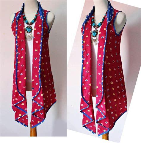Dress Gisel Merah blazer batik merah batik blazers