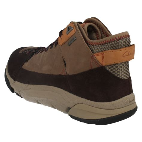 clarks outdoor shoes mens clarks outdoor tex boots tri outflex gtx ebay