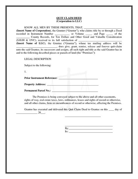 printable quit claim deed form pin florida quitclaim deed transmittal form on pinterest