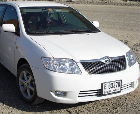 Toyota Corolla For Rent Toyota Corolla On Rent For Dubai City Tours At Effective Price