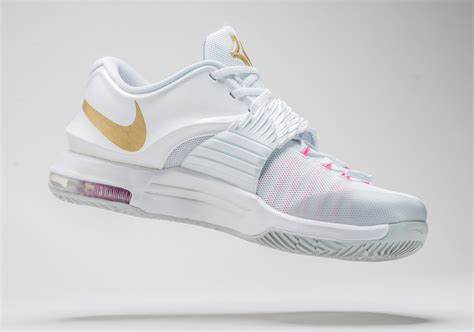 kd new year shoes 2015 kd 7 pearl shoes sneakernews