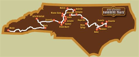 ayden nc map nc bbq trail the best places to eat barbecue in