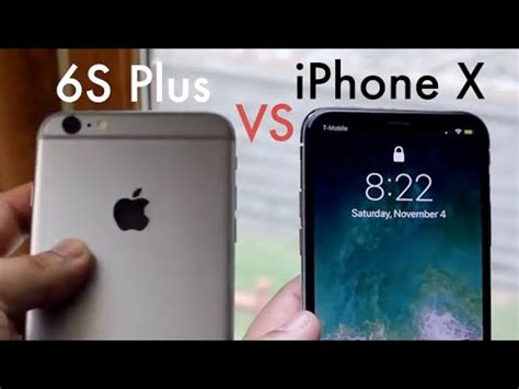 iphone 6s plus vs iphone x in 2018 comparison review