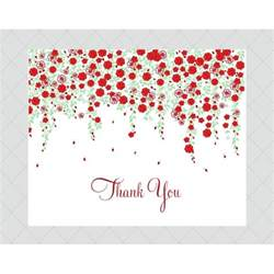 flower thank you cards style 659 whimsicalprints