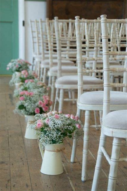 Wedding Aisle On Water by Modern And Vintage Wedding Decorations With Jugs 21