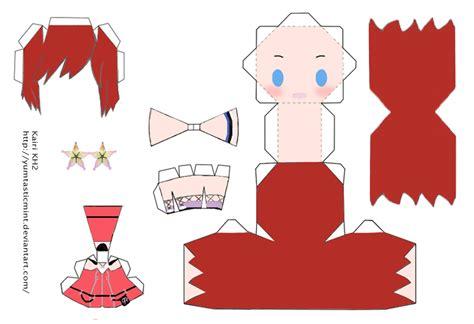 Chibi Papercraft Template - chibi anime papercraft 28 images chibi cirno