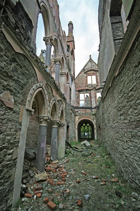 Missouri House by Deserted Places Hafodunos Hall An Abandoned Mansion In Wales