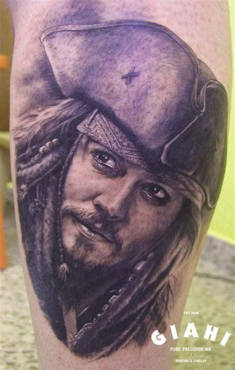 johnny depp tattoo skull and crossbones 70 best skulls grim reapers death images on pinterest