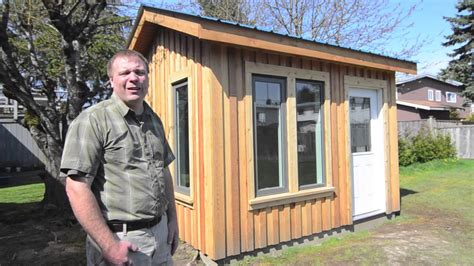 how to build a backyard office backyard office studio shed youtube
