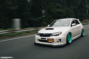 Subaru Sti Stance Breaking Necks On S Ian S Subaru Sti