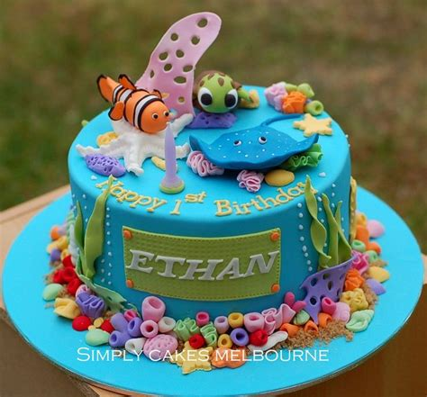 themed birthday cakes melbourne 17 best images about under the sea coral reef on