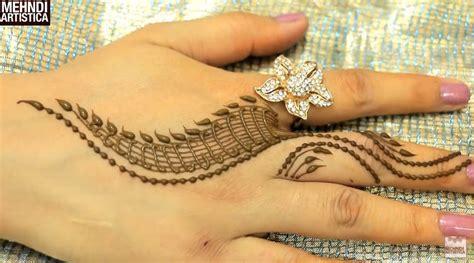 trendy henna mehndi designs   minutes craft community
