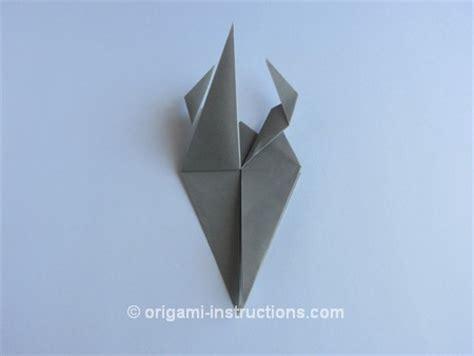 Origami Goat - origami goat folding origami animals