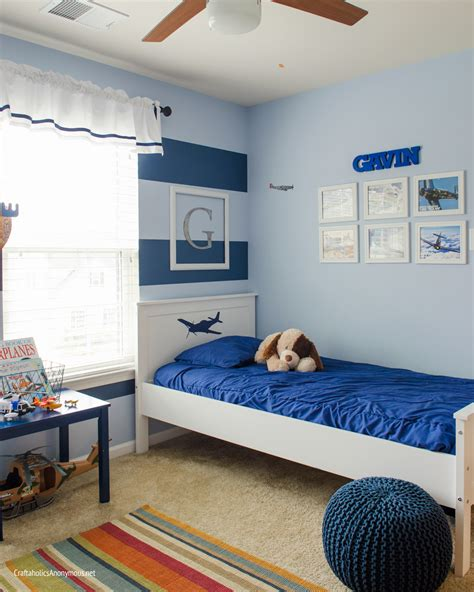 L For Boys Room by Craftaholics Anonymous 174 Easy Diy Stripe Wall Giveaway