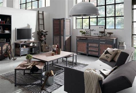 Style Industriel Salon by Comment Int 233 Grer La Table Basse Style Industriel Dans Le Salon
